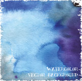Watercolor vector background Stock Image