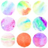 Watercolor vector background. + EPS10 Stock Photography