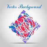 Watercolor vector background. Hand drawing. Stock Photos