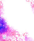 Watercolor vector background Royalty Free Stock Photography
