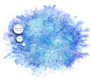 Watercolor vector background Royalty Free Stock Photo