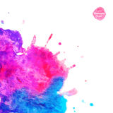 Watercolor vector background Stock Images