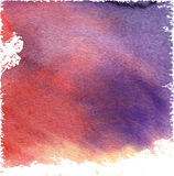 Watercolor vector background Stock Photography