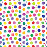 Watercolor vector seamless pattern Stock Images
