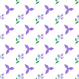 Watercolor vector seamless pattern. Handpaint watercolor vector seamless pattern Stock Photography