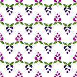 Watercolor vector seamless pattern. Handpaint watercolor vector seamless pattern Stock Photo