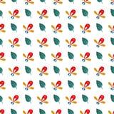 Watercolor vector seamless pattern. Handpaint watercolor vector seamless pattern Royalty Free Stock Photos