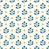 Watercolor vector seamless pattern. Handpaint watercolor vector seamless pattern Royalty Free Stock Photo