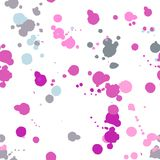 Watercolor vector seamless pattern. Stock Photo