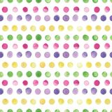 Watercolor vector seamless pattern. Seamless pattern can be used for wallpaper, pattern fills, web page background Stock Images