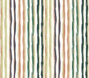 Free Watercolor Vector Stripe Background. Vertical Masculine Shirt Line Seamless Pattern. Hand Painted Wonky Striped Streak Royalty Free Stock Images - 175342319