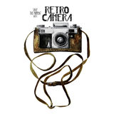 Watercolor Vintage Retro Camera Royalty Free Stock Photo