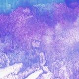 Watercolor violet and blue fluid texture. Watercolor violet and blue fluid texture royalty free illustration
