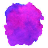 Watercolor violet luxury Royalty Free Stock Photography