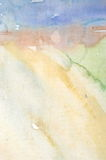 Watercolor wash background stock image