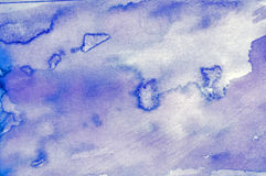 Watercolor wash for backgrounds Stock Images