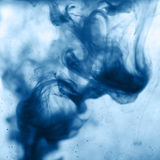 Watercolor water wave Stock Images