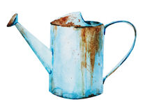 Watercolor Watering Can Royalty Free Stock Images