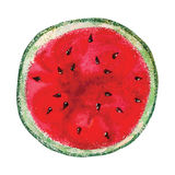Watercolor watermelon Royalty Free Stock Images