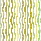Watercolor waves. Stock Photo