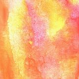 Watercolor yellow and pink fluid texture. Watercolor yellow and pink fluid texture stock images