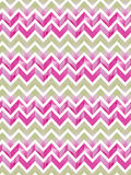 Watercolor zigzag pattern Stock Photography