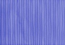 watercolored的背景蓝色条纹 免版税库存照片