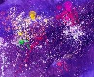 Watercolors αφαίρεσης Στοκ εικόνες με δικαίωμα ελεύθερης χρήσης