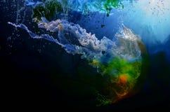 Watercolors για τα χρώματα, τα υπόβαθρα και τα σχέδια Στοκ Εικόνα