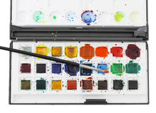 Watercolors Stock Photography