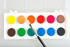 Watercolors Royalty Free Stock Photos