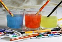 Watercolors Stock Photos