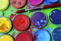Watercolors Stock Images
