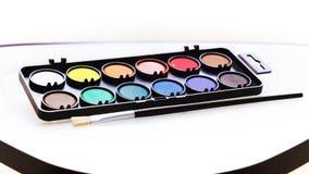 watercolors Fotografia de Stock