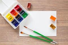 watercolors Foto de archivo libre de regalías