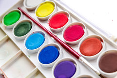 watercolors Lizenzfreies Stockbild