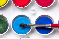 watercolors Stockfotos