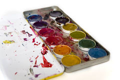 Watercolors Stock Image