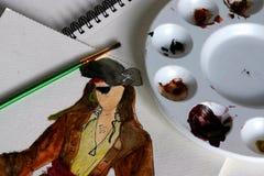 watercolors Στοκ εικόνα με δικαίωμα ελεύθερης χρήσης