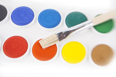 Watercolors  isolated on the white background Royalty Free Stock Image