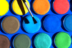 Watercolors Royalty Free Stock Photography