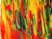 Watercolors painted abstract Royalty Free Stock Photo