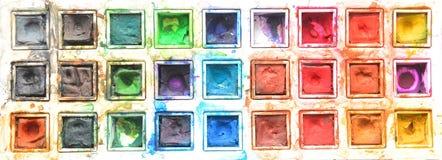 Watercolors Stock Image
