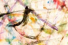 watercolour картины Стоковая Фотография