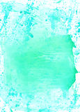 Watercolour abstract hand drawing wash  painting  shabby  backgr Stock Images