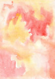 Watercolour abstract wash painting background for design. Cute image stock illustration
