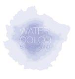 Watercolour background, vector backdrop, Royalty Free Stock Photos