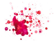 Watercolour blots Royalty Free Stock Photos