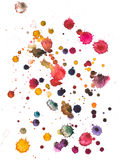 Watercolour blots Stock Photo
