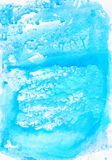 Watercolour blue  gentle  soft abstract  wet drawing  backdrop Royalty Free Stock Photos